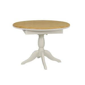 Stag Crompton Round Extending Single Pedestal Table