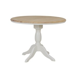 Stag Crompton Round Fixed Top Dining Table