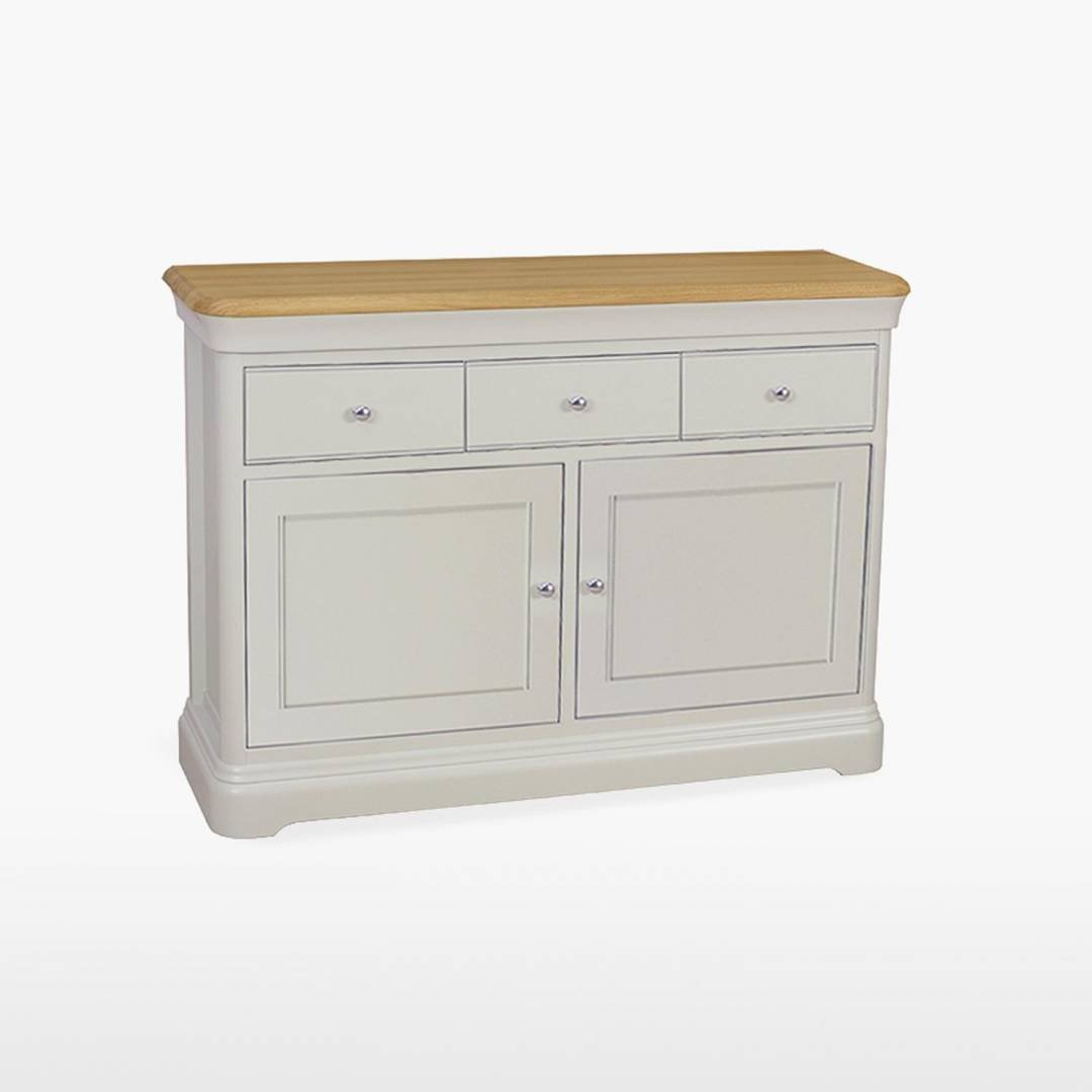 Stag Crompton Small 2 Door 3 Drawer Sideboard
