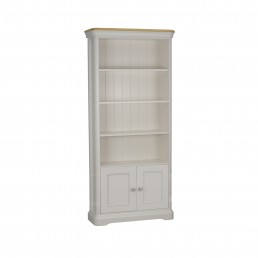 Stag Crompton Bookcase With 2 Doors