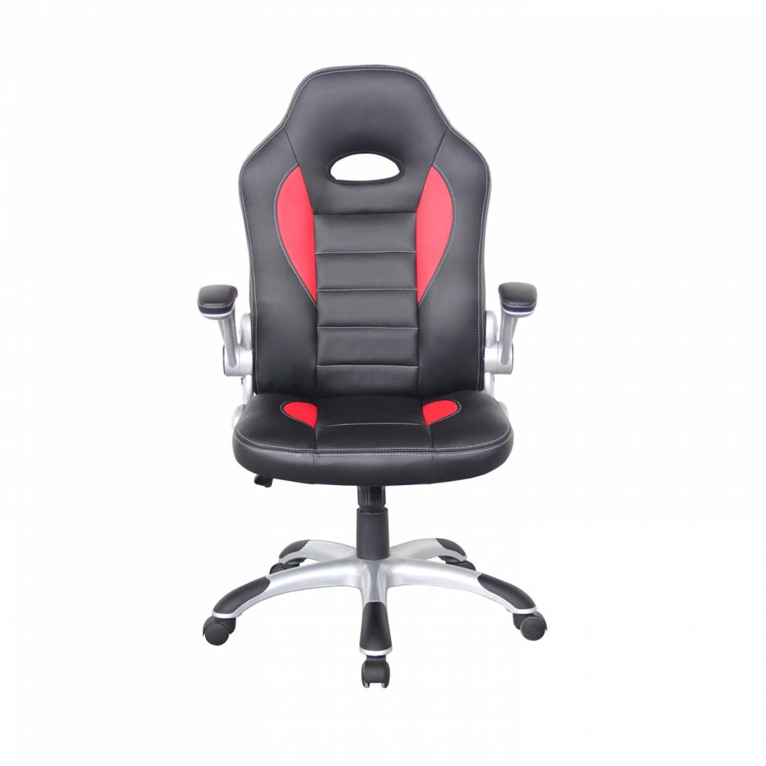 Taladega Racing Style Office Chair Red