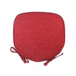 Savannah Piped Seat Pad Wine