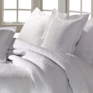 Forest Bedspread White