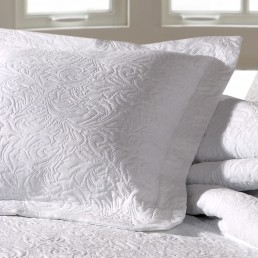 Forest Cushion Cover White