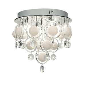 Dar Cloud 9 Light Flush Ceiling