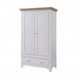 Rochelle Double Wardrobe With Drawer