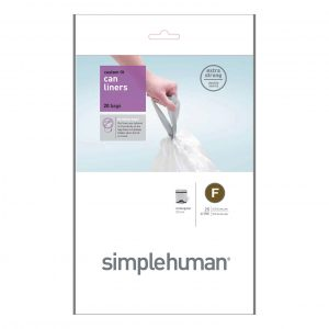 Simple Human 25L Type F Bin Liner