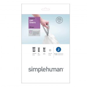 Simple Human 40L Type J Bin Liner
