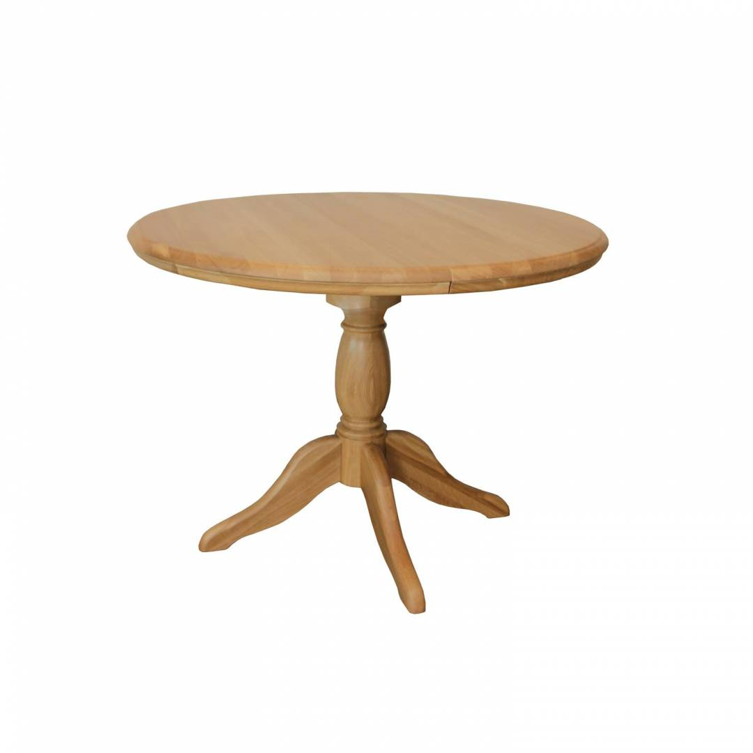 Stag Langham Round Fixed Top Dining Table