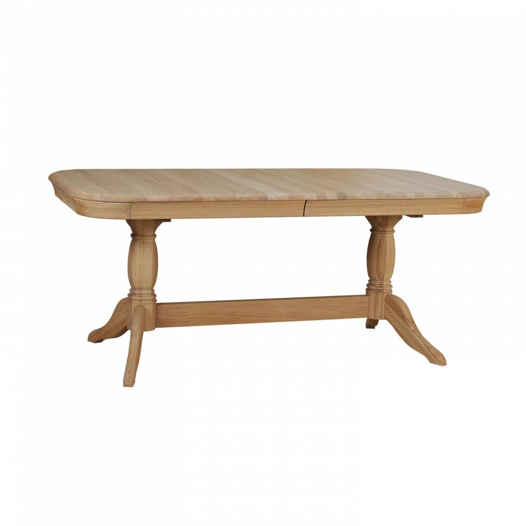 Stag Langham Double Pedestal Dining Table