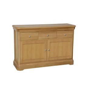 Stag Langham Small 2 Door 3 Drawer Sideboard