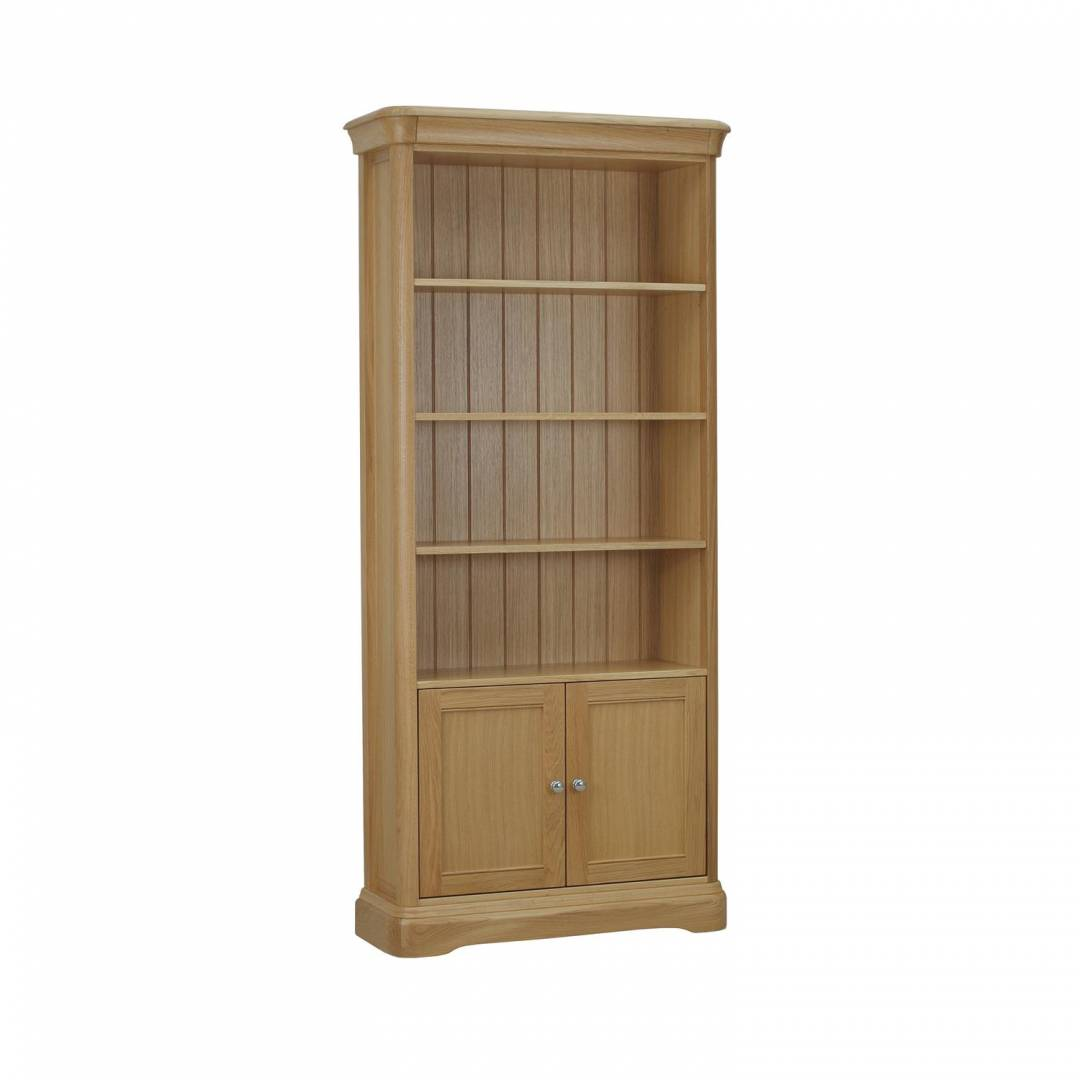 Stag Langham Bookcase With 2 Doors