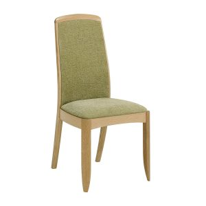 Shades Oak Fully Upholstered Dining Chair