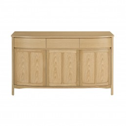 Shades Oak 3 Door Sideboard