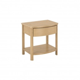 Shades Oak Shaped Lamp Table