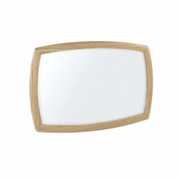 Shades Oak Shaped Wall Mirror
