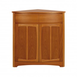 Shades Teak Shaped Corner Base Unit