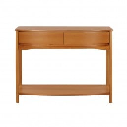 Shades Teak Console Table