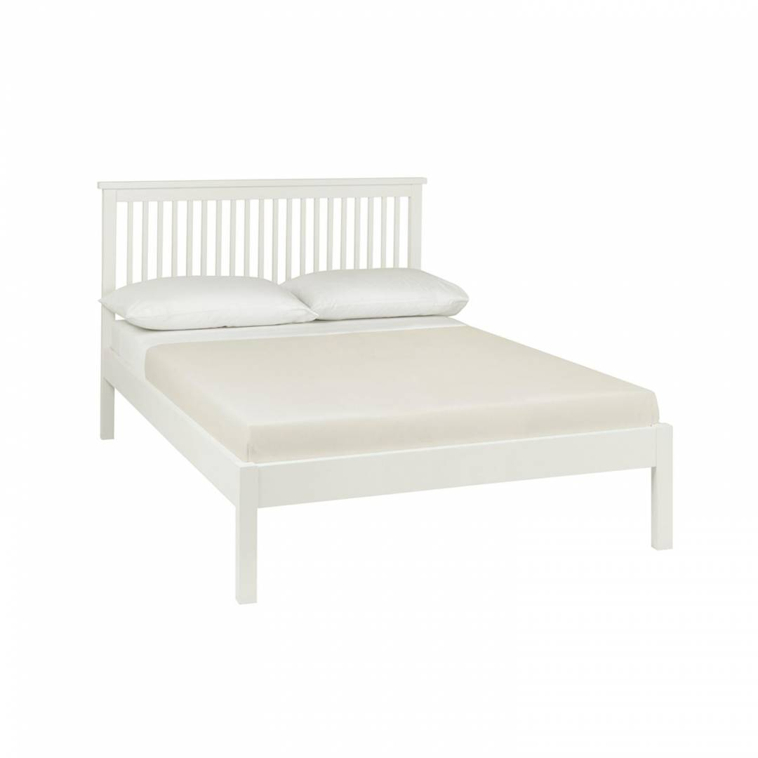 Georgia White Low Footend Bedstead