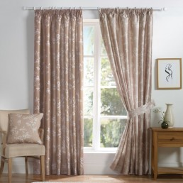 Anais Readymade Curtains Natural
