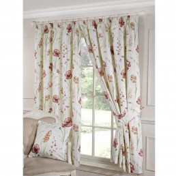 Ellie Readymade Curtains Terracotta
