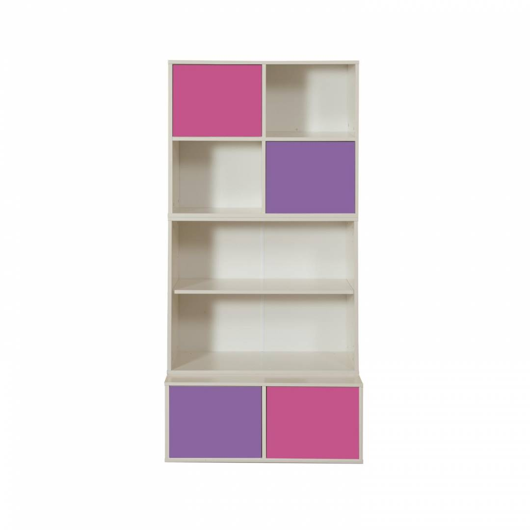 Stompa Duo Uno S Storage Bundle 2 – 2 Pink & 2 Purple Small Doors