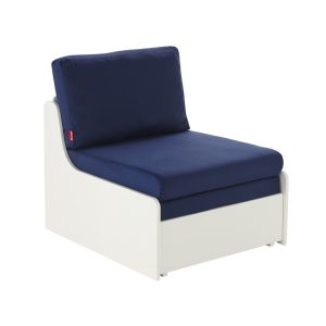 Stompa Duo Uno S Single Chair Bed Blue