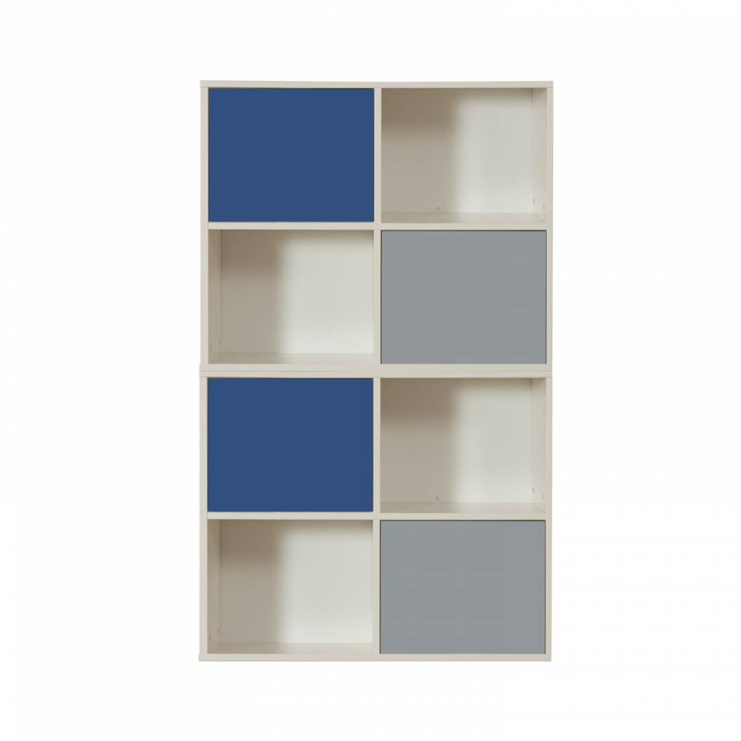Stompa Duo Uno S Storage Bundle E3 – 2 Blue & 2 Grey Small Doors