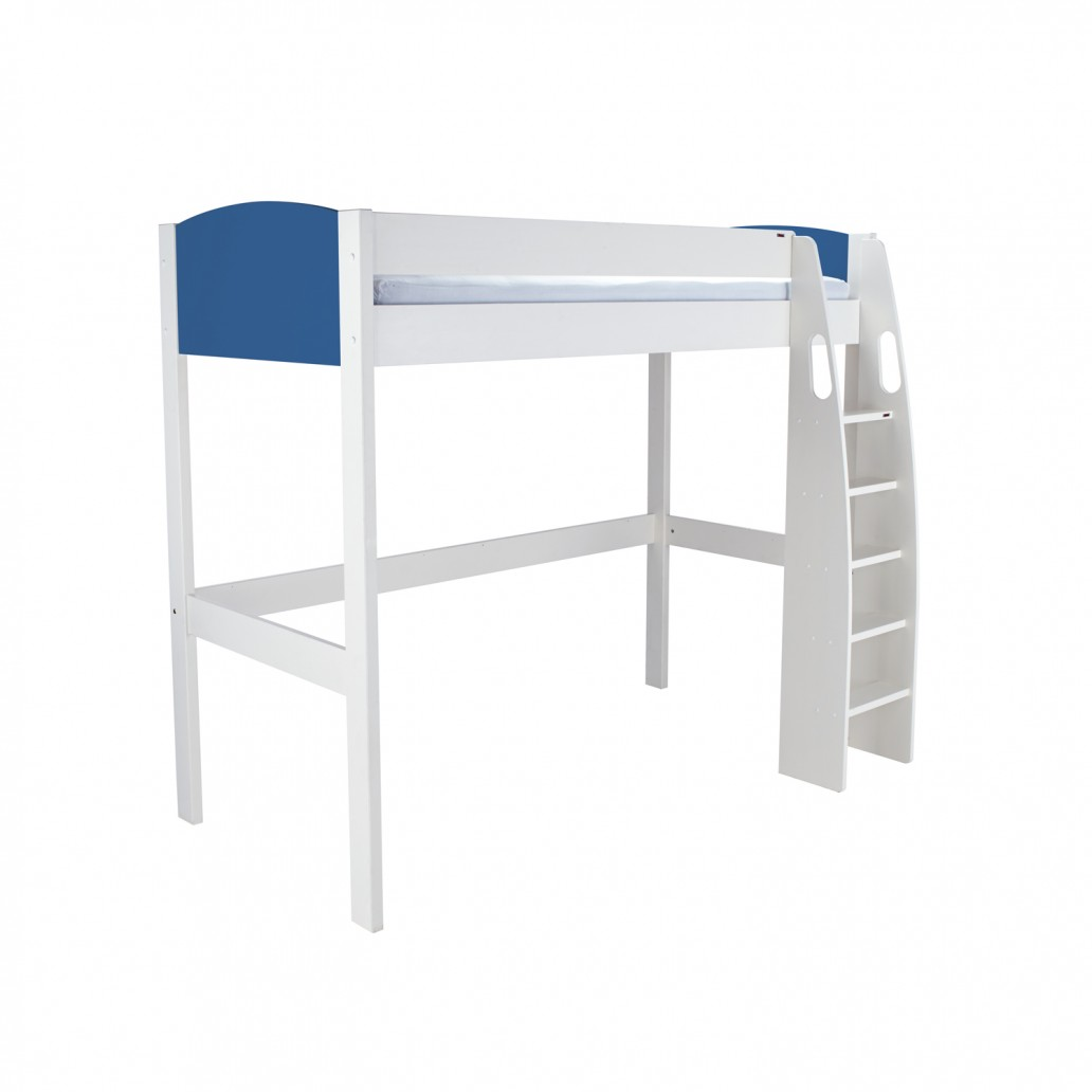 Stompa Duo Uno S Highsleeper – Blue Headboards