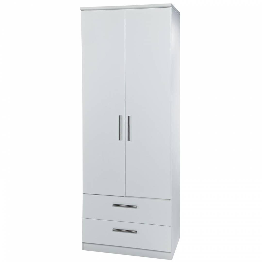 Krib Tall 2 Drawer Wardrobe