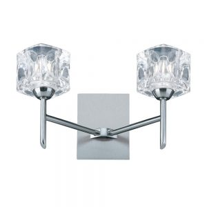 Searchlight Ice Cube Wall Light