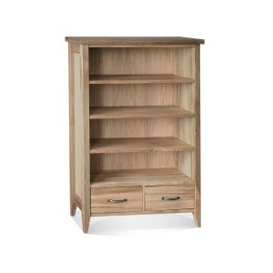 Wykeham Lacquered 2 Drawer Bookcase