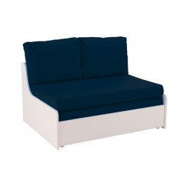 Stompa Duo Uno S Double Sofa Bed Blue