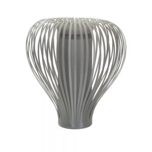 Balloon Table Lamp In Grey