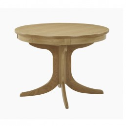 Shades Oak Circular Dining Table