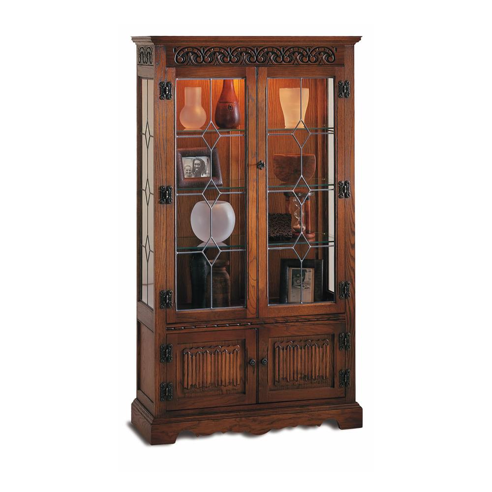 Old Charm Tall Display Cabinet