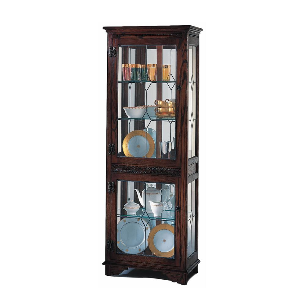 Old Charm Narrow Display Cabinet