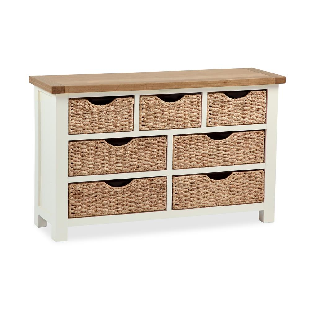 Southwold 3 + 4 Drawer Chest With Baskets