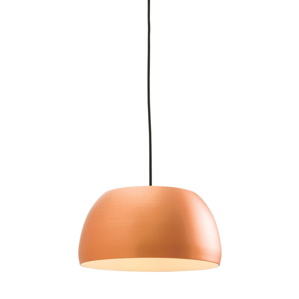 Endon Connery Pendant Matt Copper