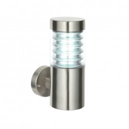 Endon Equinox LED Stainless Steel Outdoor Wall Light