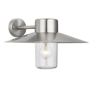 Endon Fenwick Outdoor Wall Light Stainless Steel