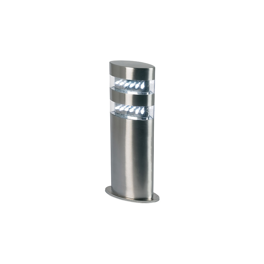 Endon Radian LED 305mm Outdoor Post Stainless Steel