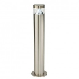 Endon Pyramid LED 500mm Outdoor Post Stainless Steel