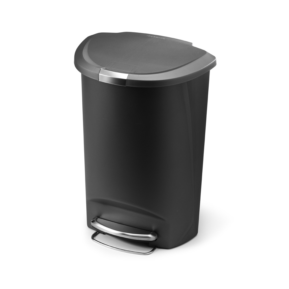 Simple Human 50L Semi Round Pedal Bin