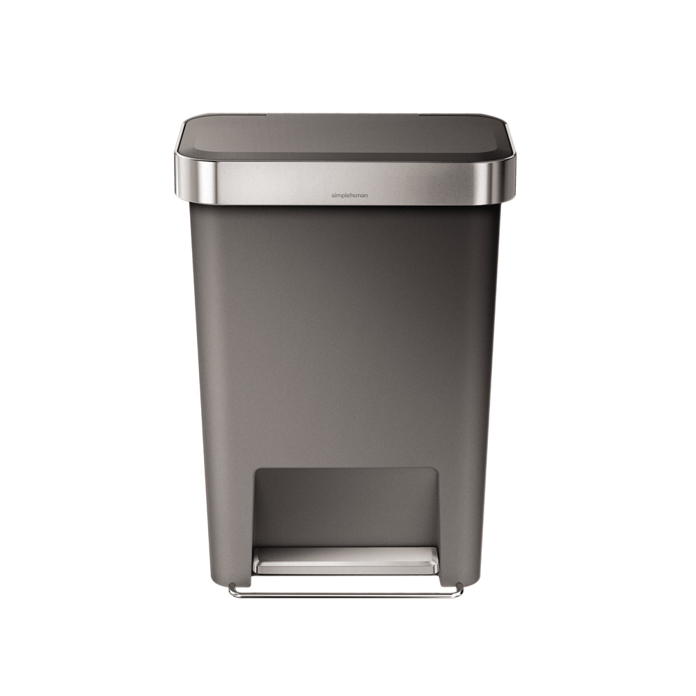 Simple Human 45L Rectangular Pedal Bin