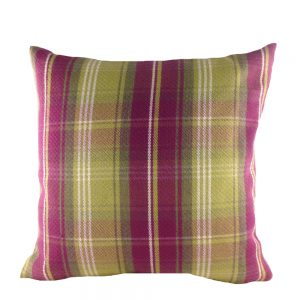 Stirling Check Cushion Heather
