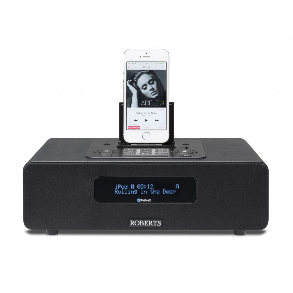 Roberts Blutune 65 Bluetooth Sound System With Dock Black