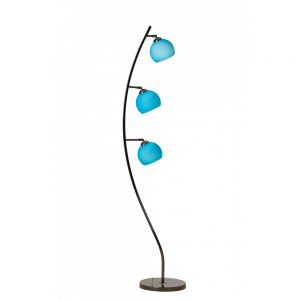 Danalight Cocoon 3 Light Floor Lamp Blue