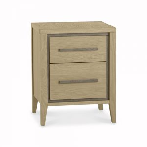Rhone 2 Drawer Nightstand