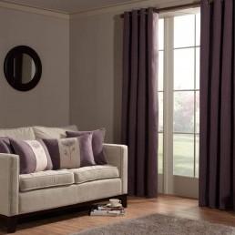 Anderson Readymade Curtains Plum